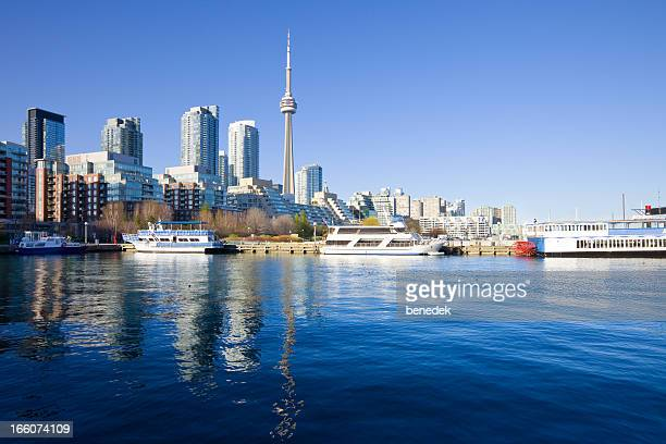 toronto, canada - passenger craft stock pictures, royalty-free photos & images