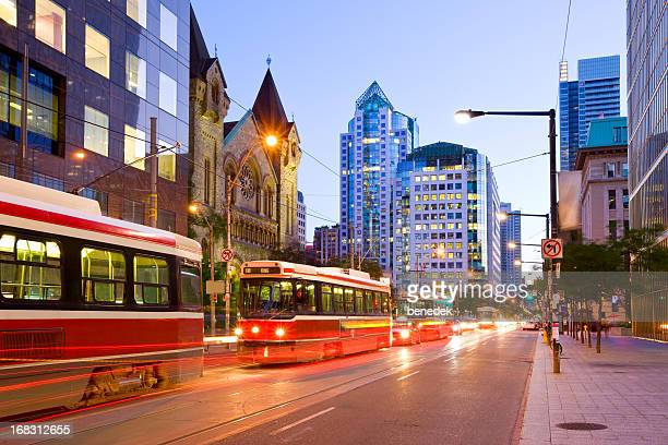 toronto, canada - street stock pictures, royalty-free photos & images