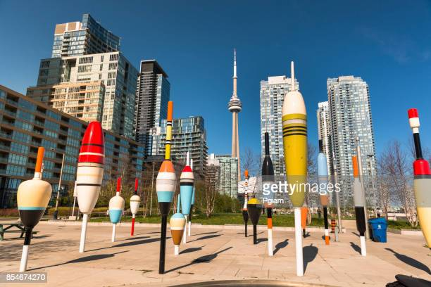 toronto city skyline in ontario canada - multiculturalism stock pictures, royalty-free photos & images