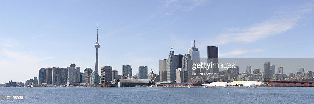 Toronto City Summer Panorama : Stock Photo