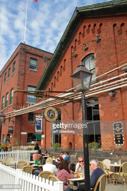 Toronto Distillery District Historic Site Gooderham Worts
