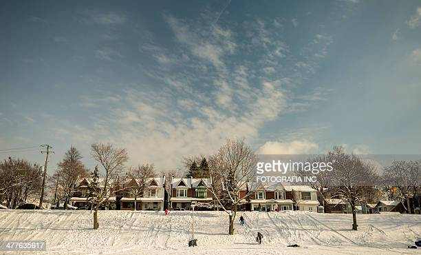 toronto east side - east stock pictures, royalty-free photos & images