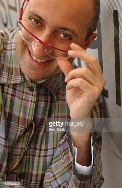 IMAGE 06/06/03 Toronto eyewear designer Alain Mikli for frockwatch