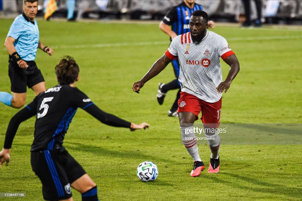 SOCCER: SEP 09 MLS - Toronto FC at Montreal Impact : News Photo