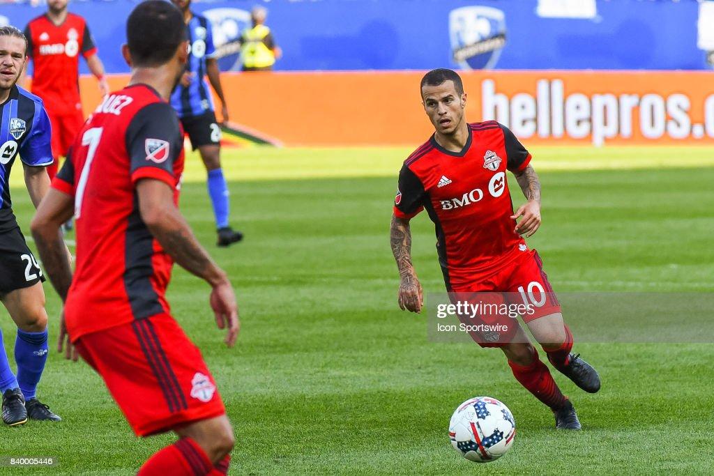 SOCCER: AUG 27 MLS - Toronto FC at Montreal Impact : News Photo