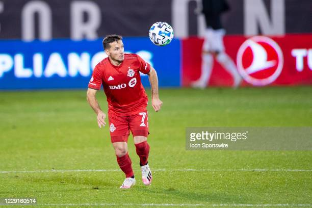Toronto FC Midfielder / Forward Pablo Piatti pursues the ball during the second half of a Major League Soccer match between the Atlanta United FC and...