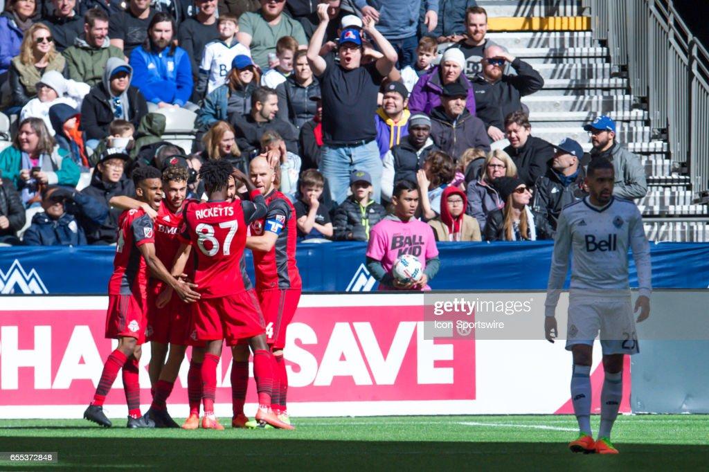SOCCER: MAR 18 MLS - Toronto FC at Vancouver Whitecaps FC : News Photo