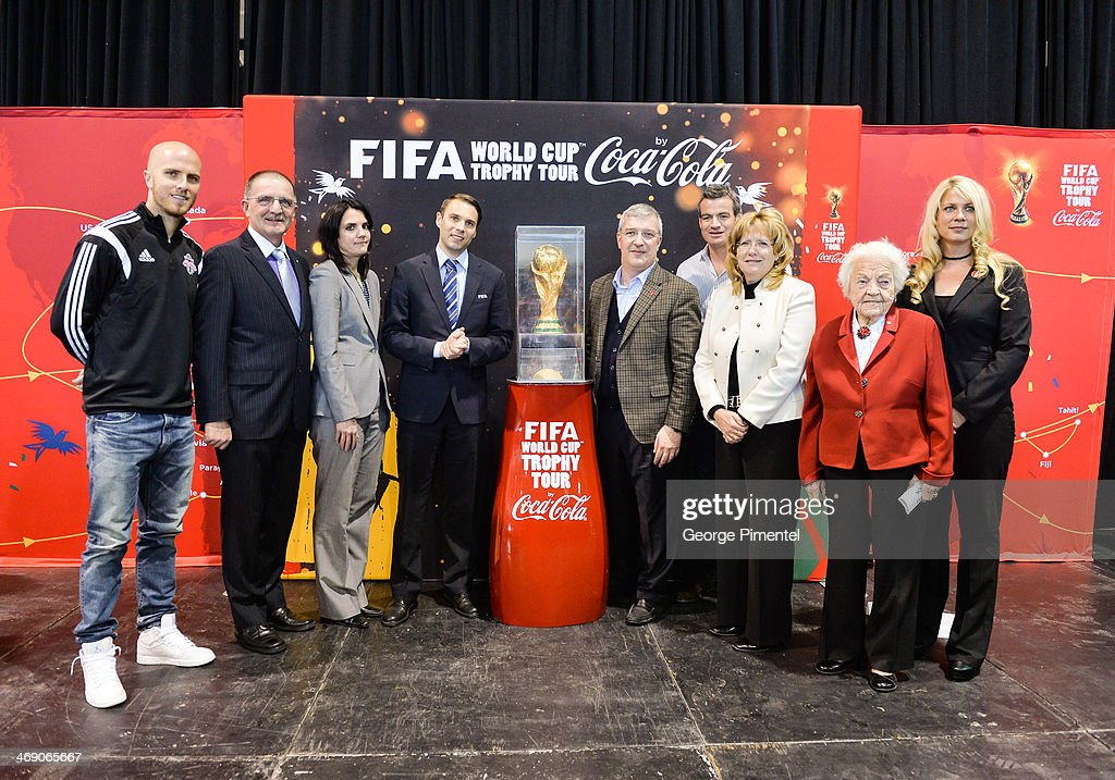 Canadian Soccer Fans To Get Up Close And Personal With Coveted FIFA World Cup Trophy