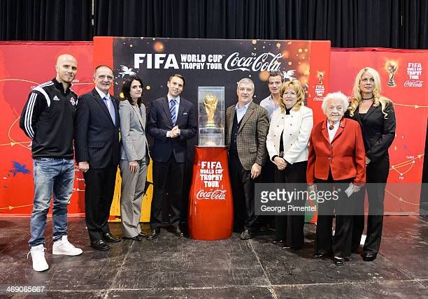 Toronto Football Club midfielder Michael Bradley MP for Mississauga EastCooksville Wladyslaw Lizon Chief Marketing and Communications Officer for the...