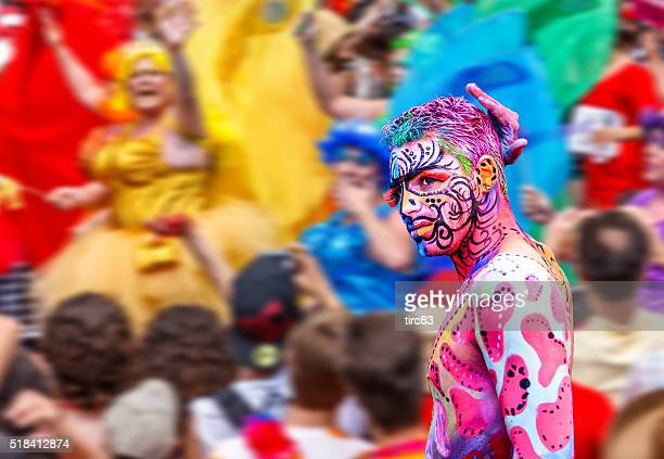Toronto Gay Pride Parade participant