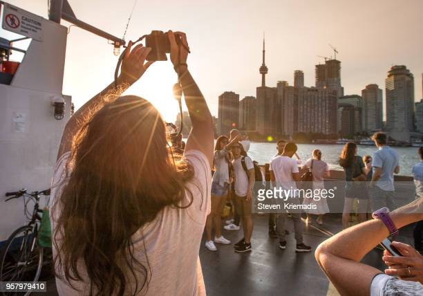 toronto harbour - tourist stock pictures, royalty-free photos & images