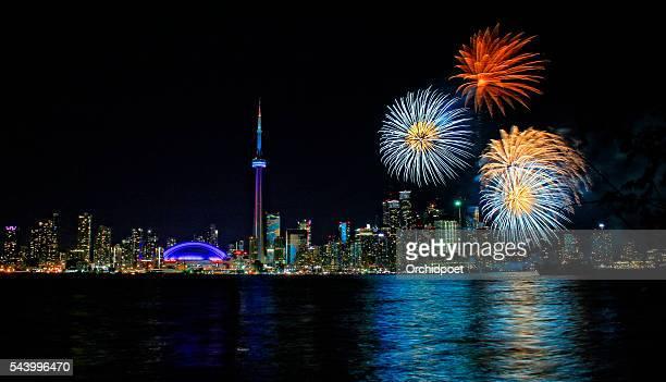 Toronto Harbourfront Fireworks