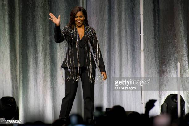 """Toronto hosted former First Lady, Michelle Obama, as she travels the continent on her book tour, """"Becoming"""". """"Becoming"""" is an autobiographical memoir..."""