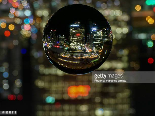 Toronto in a crystal ball
