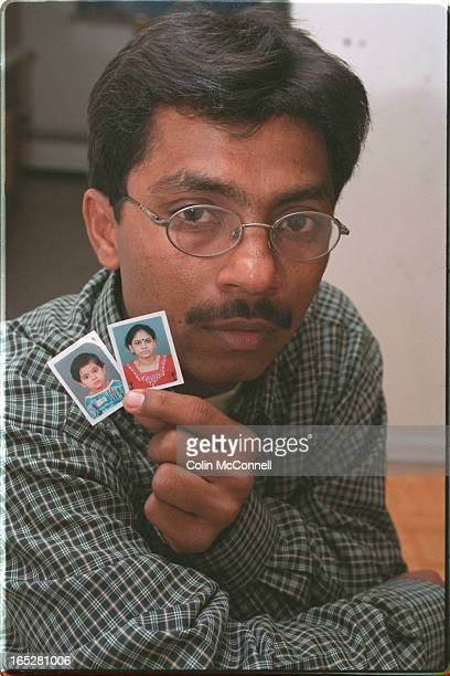 toronto jan 29 2001 mcconnell pics of nilesh patel 31 who was in india during earthquake with his wife and kids and family and is now in torontopics...