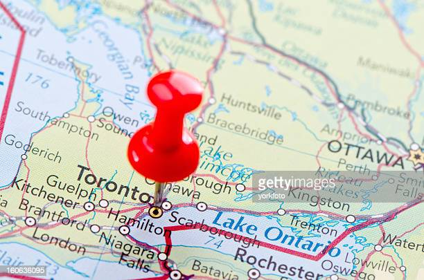 World vision canada stock photos and pictures getty images toronto map gumiabroncs Choice Image