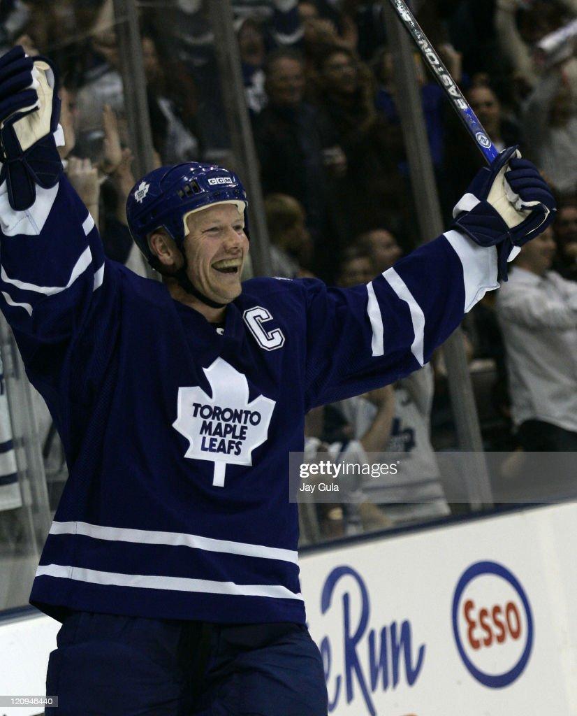 Calgary Flames vs Toronto Maple Leafs - October 14, 2006