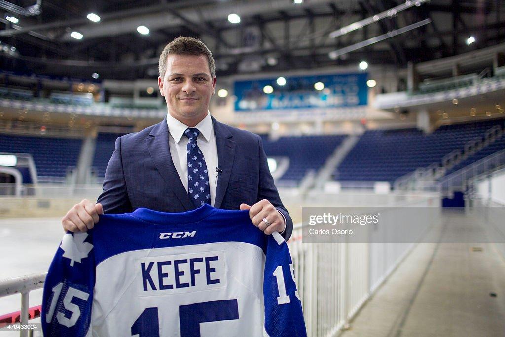 Sheldon Keefe Named Head Coach of Toronto Marlies : News Photo