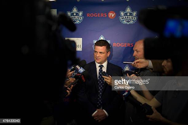 Toronto Maple Leafs' Assistant General Manager Kyle Dubas announced today that Sheldon Keefe has been named head coach of the Toronto Marlies.