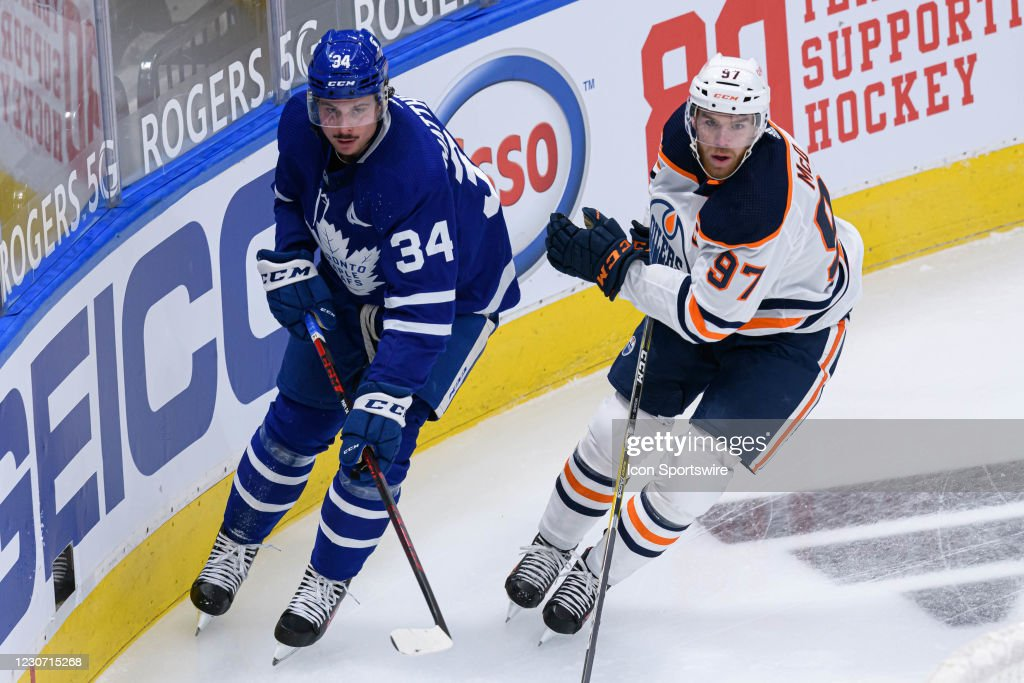 NHL: JAN 20 Oilers at Maple Leafs : News Photo