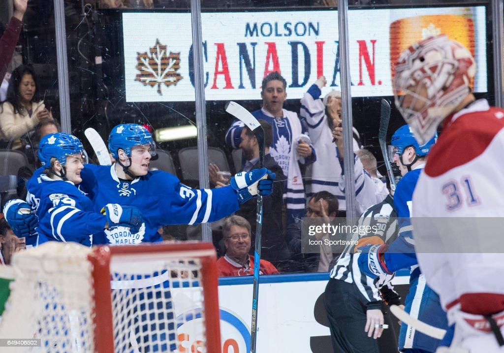 NHL: FEB 25 Canadiens at Maple Leafs : News Photo