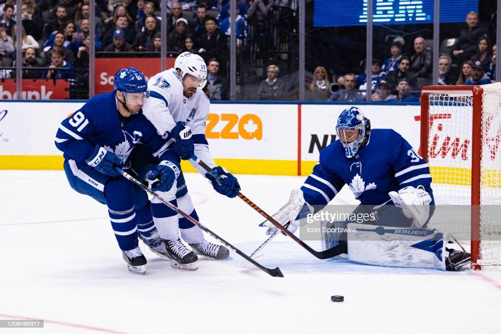 NHL: MAR 10 Lightning at Maple Leafs : News Photo