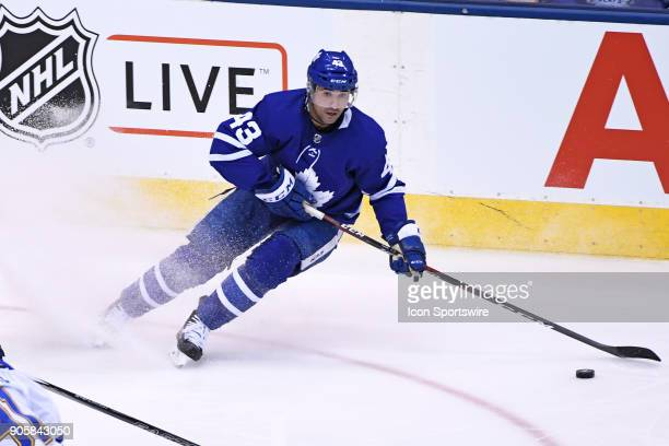Toronto Maple Leafs Center Nazem Kadri in action during the regular season NHL game between the St Louis Blues and Toronto Maple Leafs on January 16...