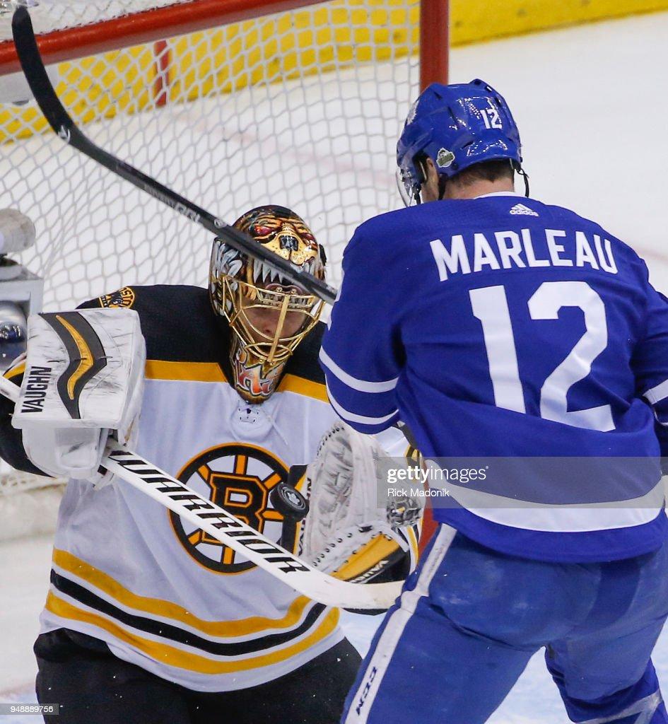 Toronto Maple Leafs VS Boston Bruins : News Photo