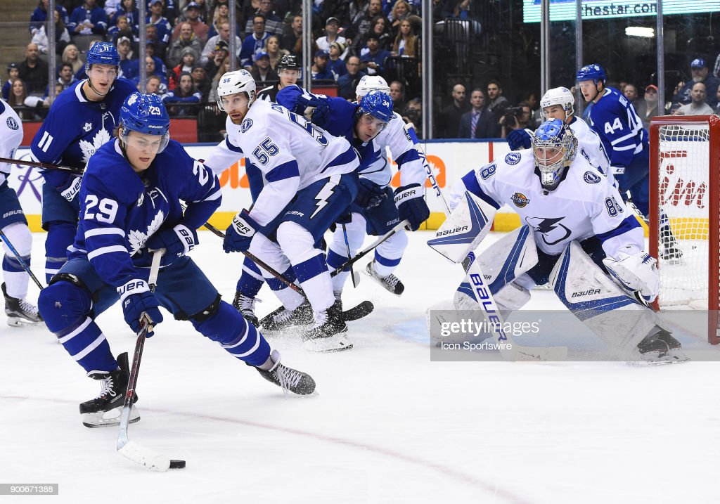 NHL: JAN 02 Lightning at Maple Leafs : News Photo