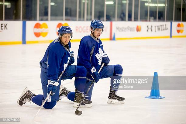 Toronto Maple Leafs first pick overall Auston Matthews participates in the Leafs Development Camp The Toronto Maple Leafs held their first rookie...