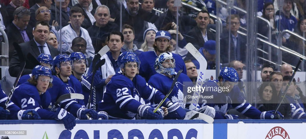 Toronto Maple Leafs fall to the Colorado Avalanche 6-3 : News Photo