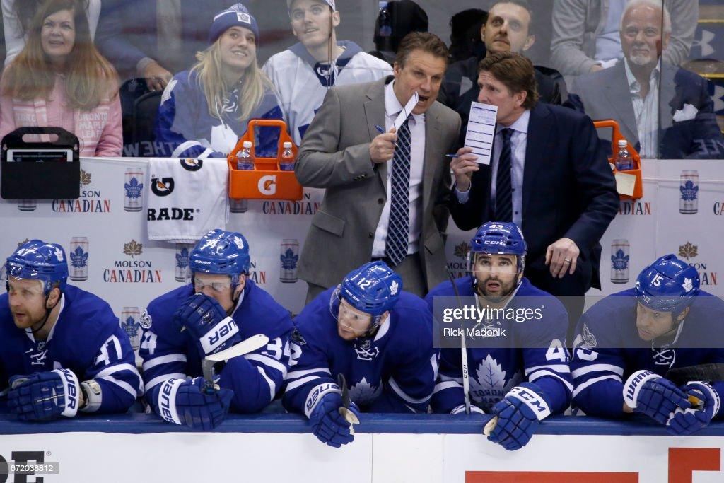 Toronto Maple Leafs VS Washington Capitals : News Photo