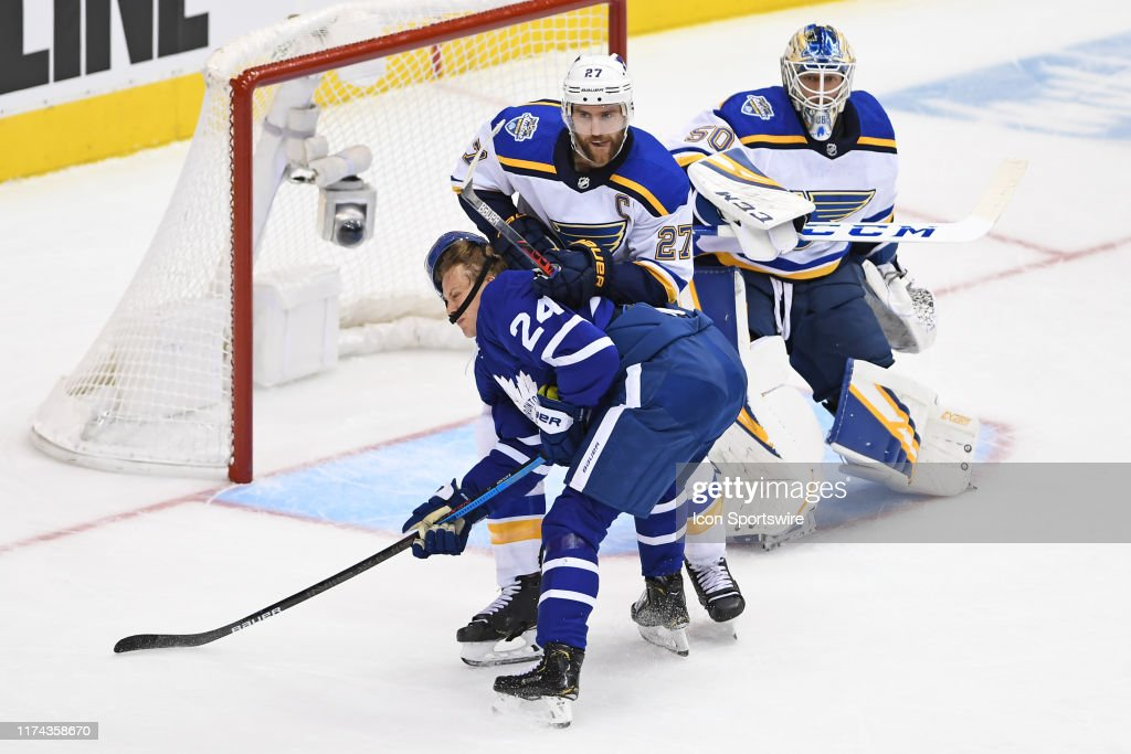 NHL: OCT 07 Blues at Maple Leafs : News Photo