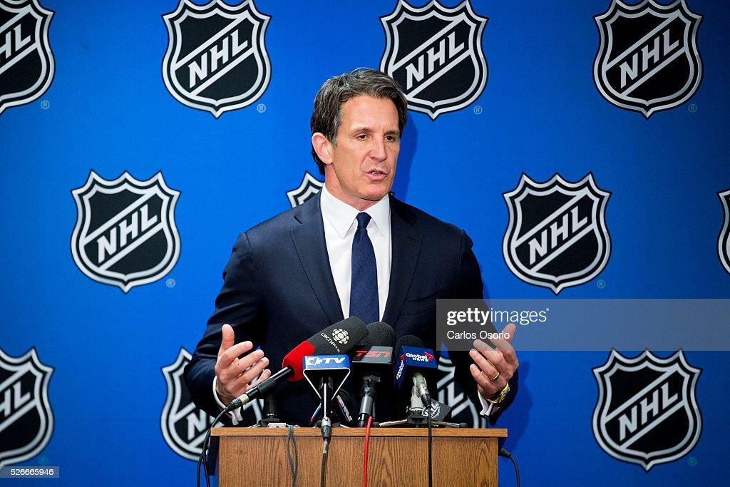 2016 NHL Draft Lottery : News Photo