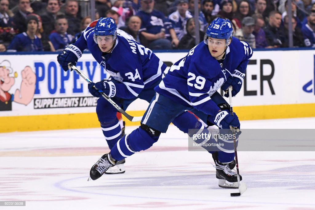 NHL: FEB 20 Panthers at Maple Leafs : News Photo