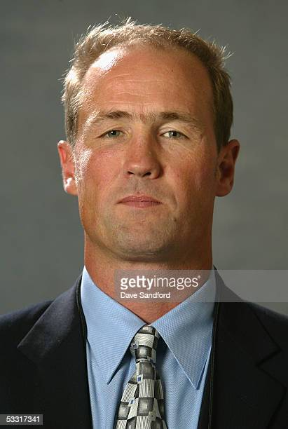 Toronto Maple Leafs scout Dave Morrison poses for a portrait during the 2005 National Hockey League Draft on July 30 2005 at the Westin Hotel in...