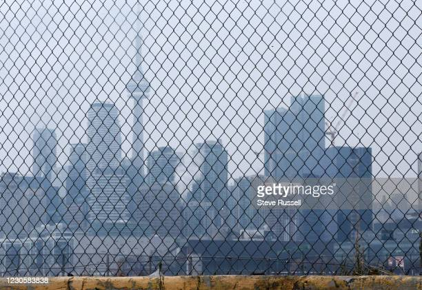 Toronto, ON- January 14 - Ontario faces stricter restrictions including a stay-at-home order that came into effect at midnight to slow the spread of...