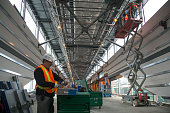 Construction progresses for Union Pearson Express train to Airport