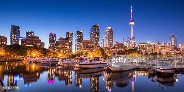 Panoramablick auf Toronto, Ontario, Kanada