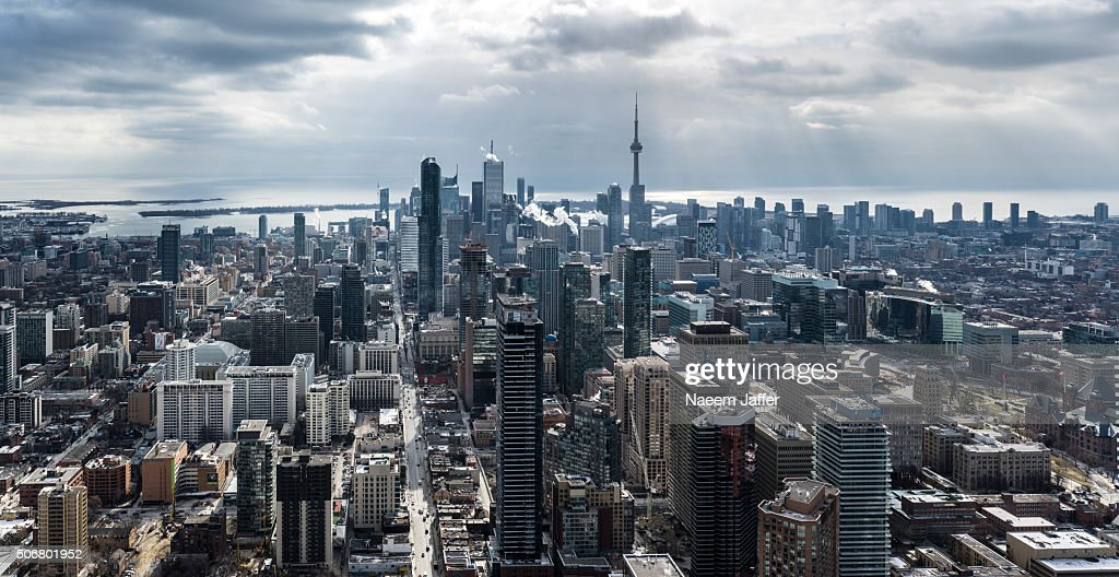 Toronto Panoramic : Stock Photo