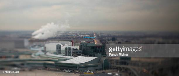 Toronto Pearson is one of two airports in Canada that have a dedicated Traffic Management Unit The tower has a 360 degree view from 20 stories high...