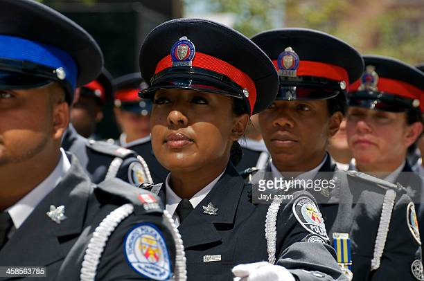 Toronto Police at NYPD Memorial ceremony, September 9, 2011, NYC