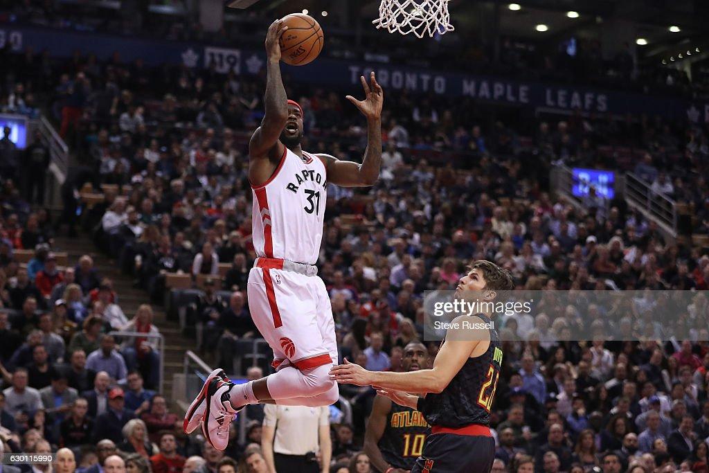 Toronto Raptors lose to the Atlanta Hawks 125-121 : Fotografia de notícias