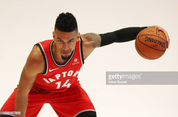 TORONTO ON SEPTEMBER 24 Toronto Raptors guard Danny Green as the Toronto Raptors host their media day before going to Vancouver for their training...