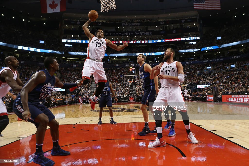 Toronto Raptors beat the Dallas Mavericks 100-78