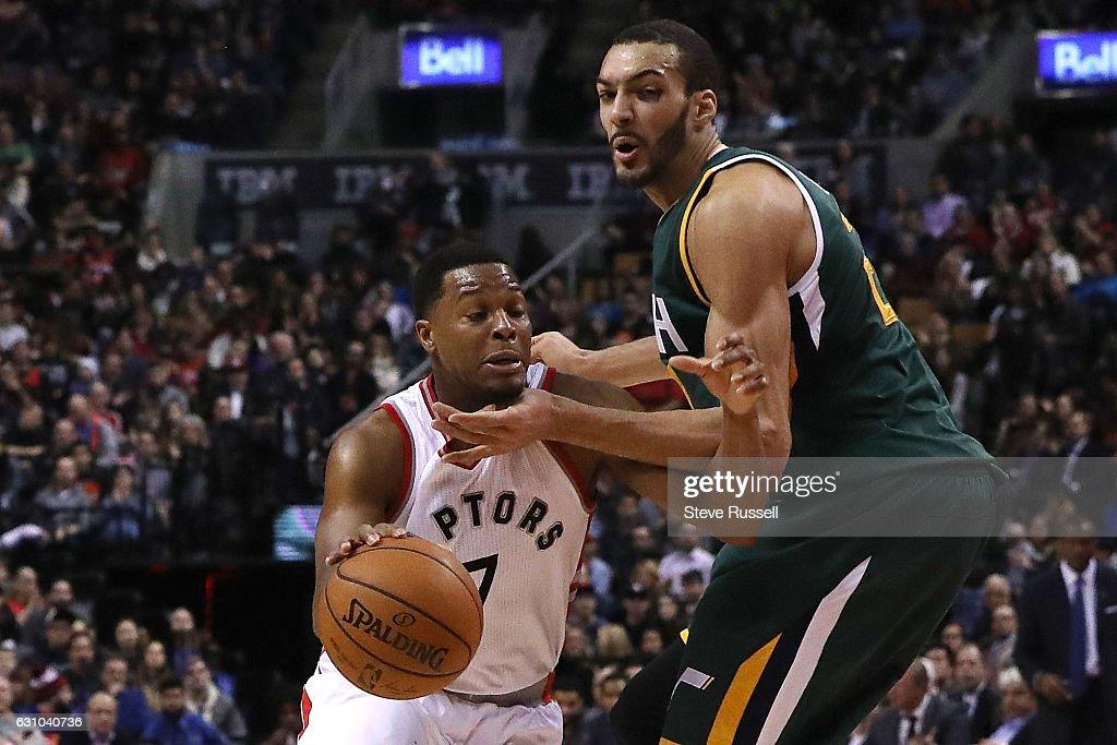 Toronto Raptors play the Utah Jazz : News Photo