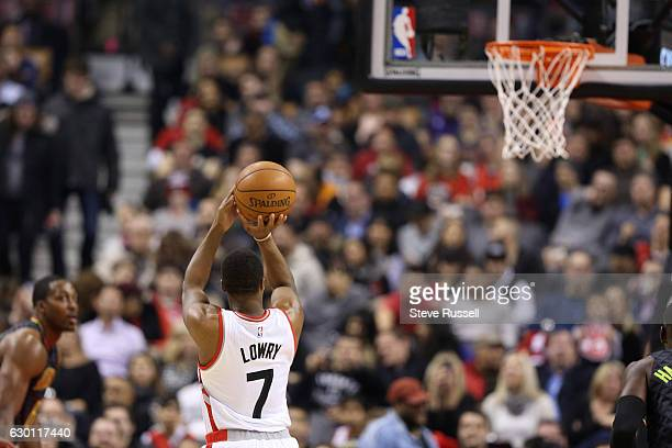 TORONTO ON DECEMBER 16 Toronto Raptors guard Kyle Lowry would miss three free throws as the Toronto Raptors lose to the Atlanta Hawks 125121 at the...