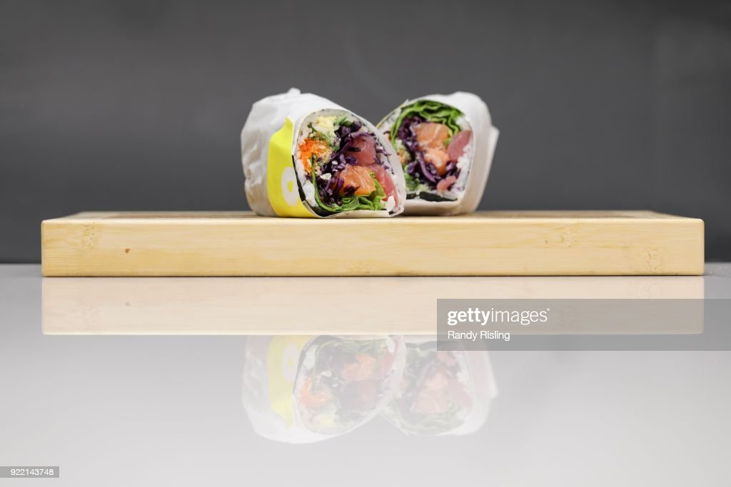 Sushi Burrito : News Photo