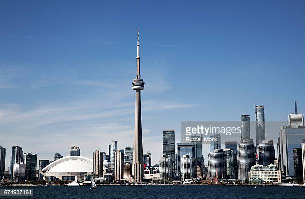 toronto skyline - ontario canada stock pictures, royalty-free photos & images