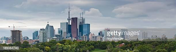 Toronto skyscraper cityscape panorama Canada